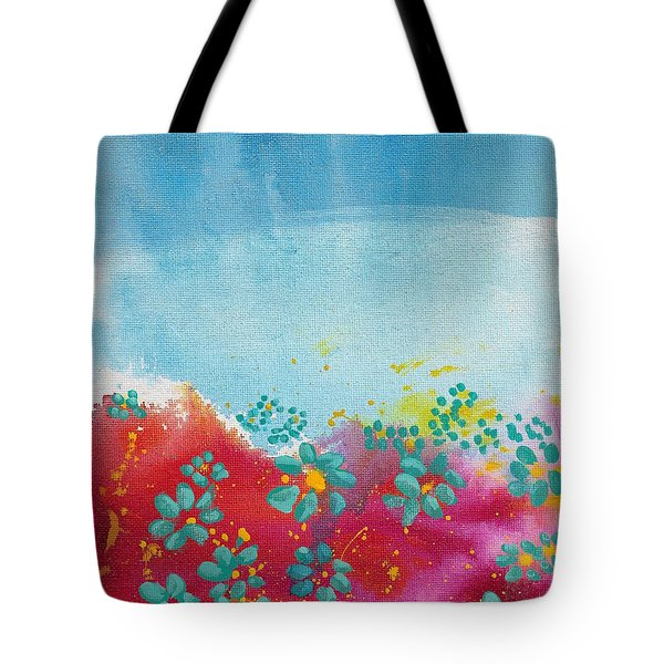 Blooms Tote Bag by Shelley Overton