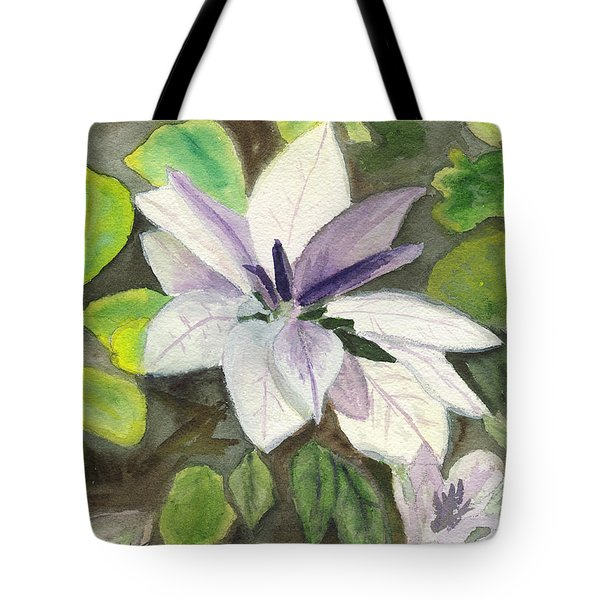 Blossom At Sundy House Tote Bag by Donna Walsh
