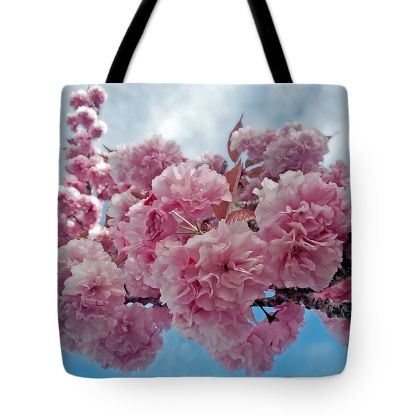 Blossom Bliss Tote Bag by Gwyn Newcombe