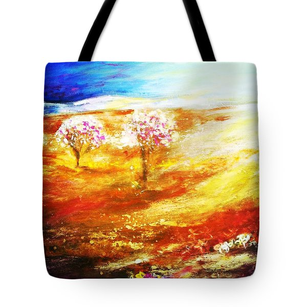 Blossom Dawn Tote Bag by Winsome Gunning