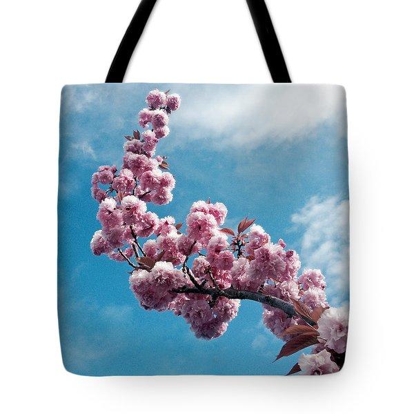 Blossom Impressions Tote Bag by Gwyn Newcombe