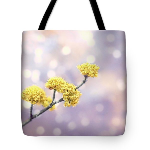 Blossom Melodies Tote Bag
