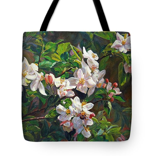 Blossom Of My Heart Tote Bag