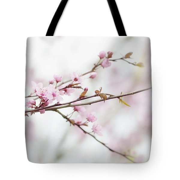 Tote Bag featuring the photograph Blossom Pink by Rebecca Cozart