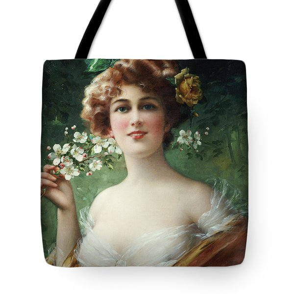 Blossoming Beauty Tote Bag