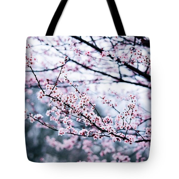 Tote Bag featuring the photograph Blossoming Buds by Parker Cunningham