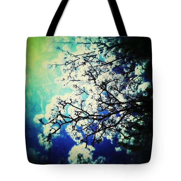 Blossoming Tote Bag