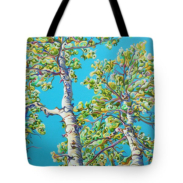 Blossoming Creativitree Tote Bag