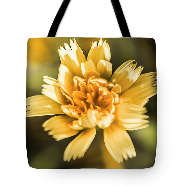 Blossoming Dandelion Flower Tote Bag