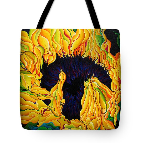 Blossomonious Yellow Trip Tote Bag