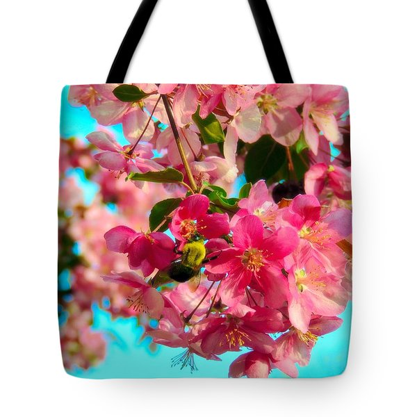 Blossoms And Bees Tote Bag