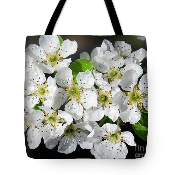 Tote Bag featuring the photograph Blossoms by Elvira Ladocki