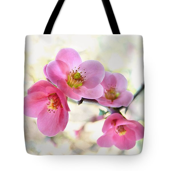 Tote Bag featuring the photograph Blossoms by Marion Cullen