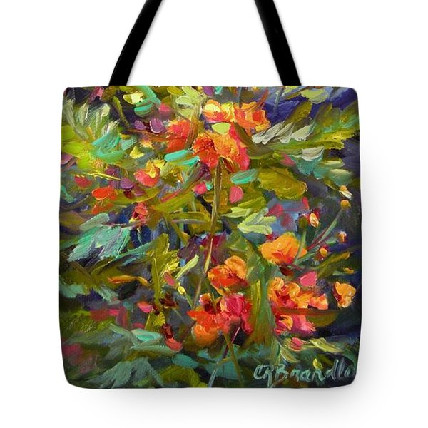 Blossoms Of Hope Tote Bag