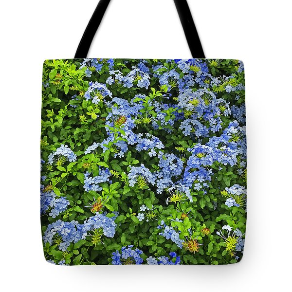 Blossoms Of Phlox Flowers Tote Bag
