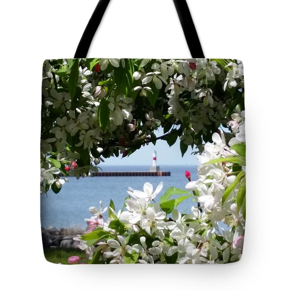Blossoms Tote Bag by Wendy Shoults