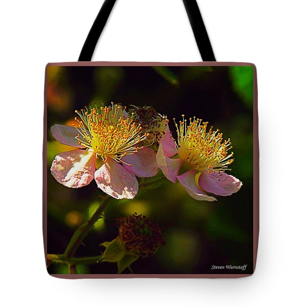 Blossoms.1 Tote Bag by Steve Warnstaff