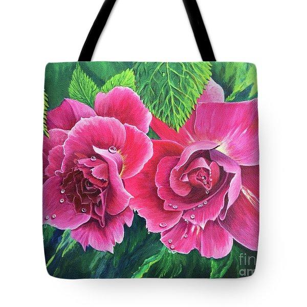 Blossum Buddies Tote Bag