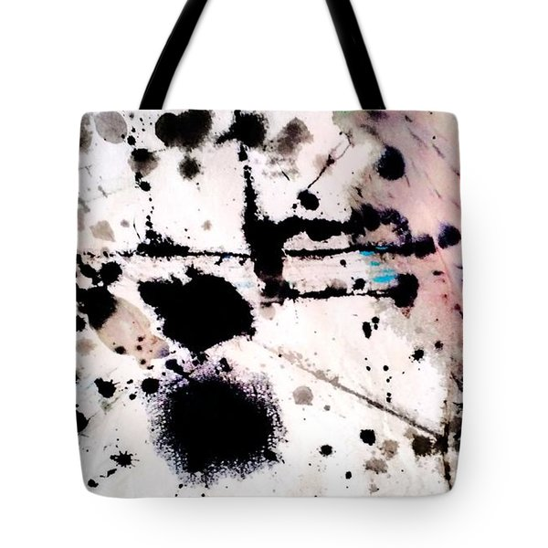 Tote Bag featuring the painting Blotch  by Amy Sorrell