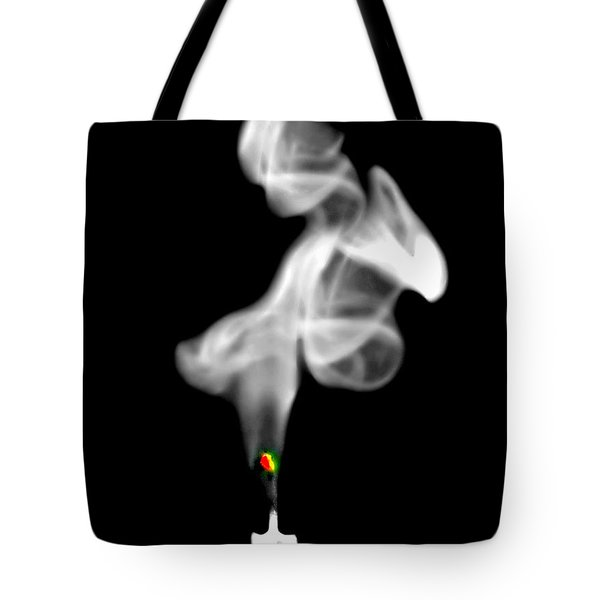 Tote Bag featuring the photograph Blow Out by Diana Angstadt