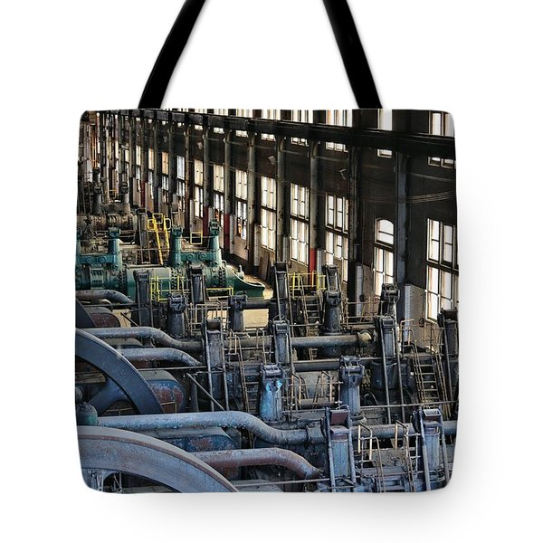 Blower Building Tote Bag