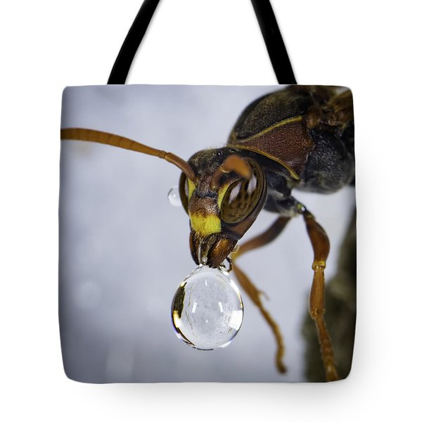 Blowing Bubbles Tote Bag