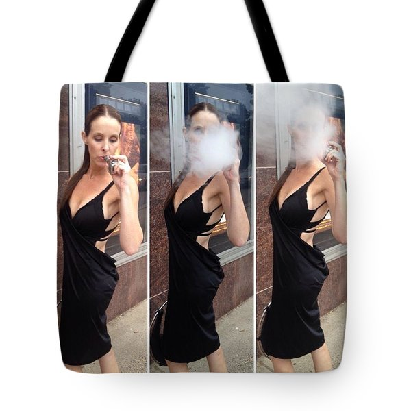 Blowing Clouds  Tote Bag by Lisa Piper