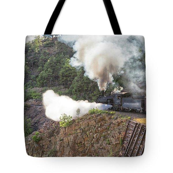 Blowing Down 481 Tote Bag