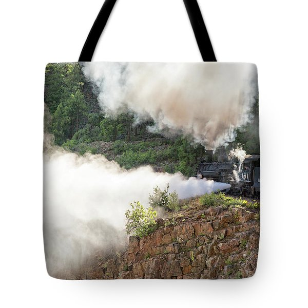 Blowing Off Steam Tote Bag