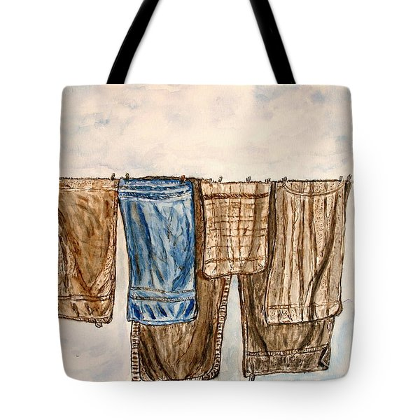 Blowing On The Wind. Tote Bag