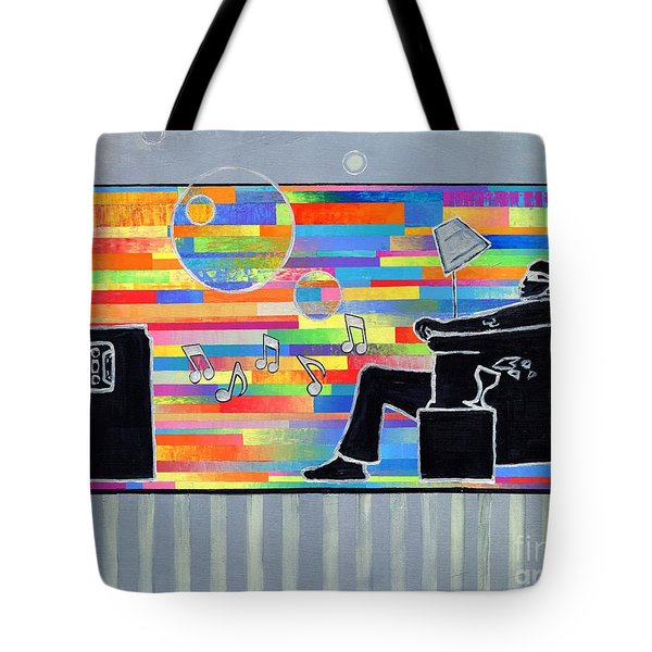 Blown Away Jeremy Style Tote Bag