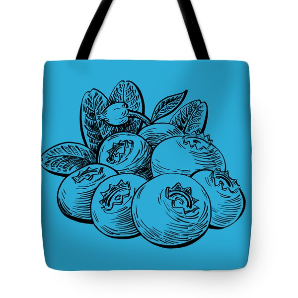 Blueberries Group Tote Bag