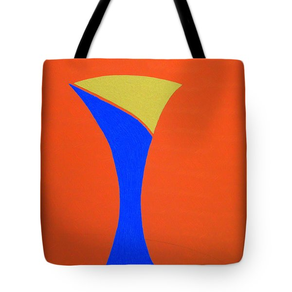 Tote Bag featuring the painting Blue 22 by Bill OConnor