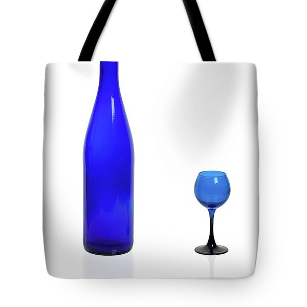 Blue  #2438 Tote Bag