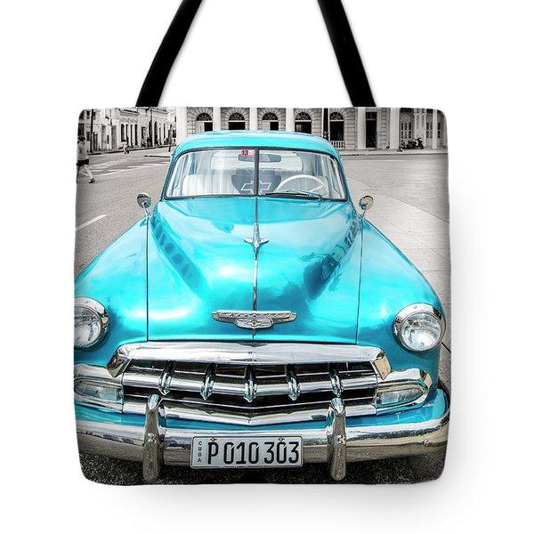 Blue 52 Tote Bag