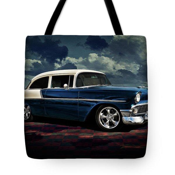 Blue '56 Tote Bag