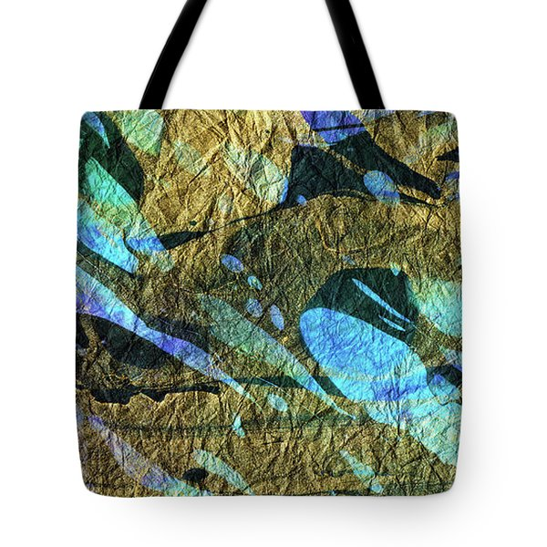 Blue Abstract Art - Deeper Visions 2 - Sharon Cummings Tote Bag