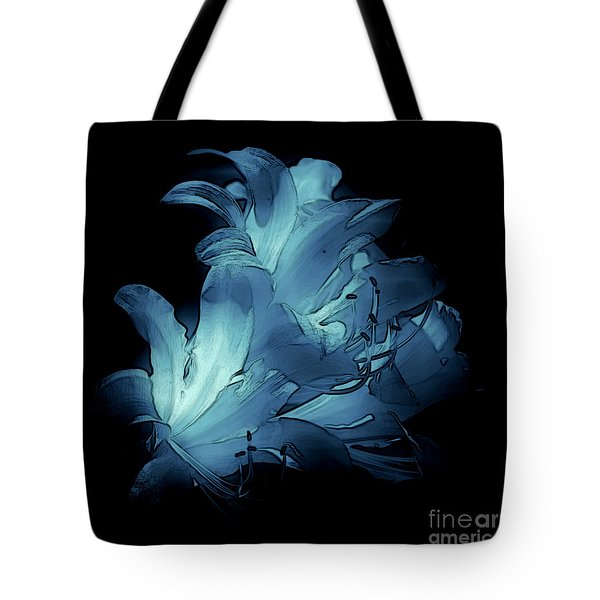 Blue Abstract No. 1 Tote Bag