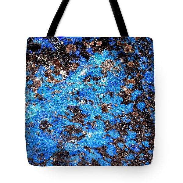 Blue Afternoon Tote Bag