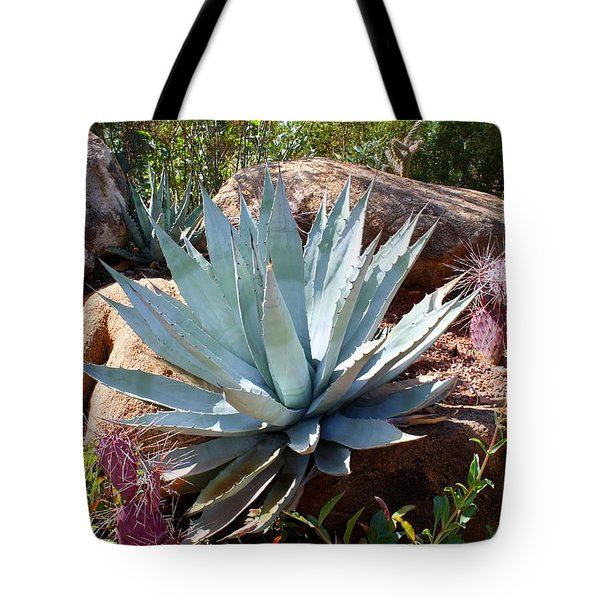 Tote Bag featuring the photograph Blue Agave by Kathryn Meyer