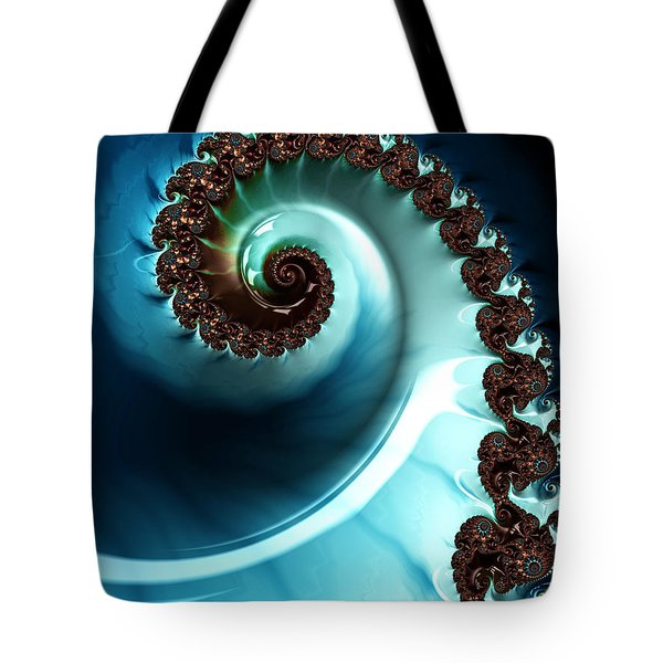 Blue Albania Tote Bag by Jeff Iverson