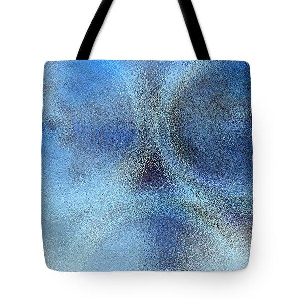 Blue Alien Tote Bag