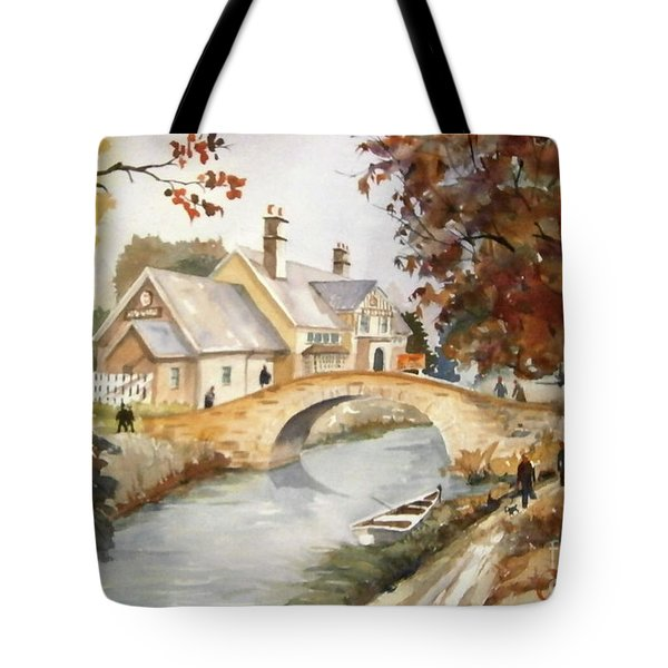 Blue Anchor Tavern Tote Bag