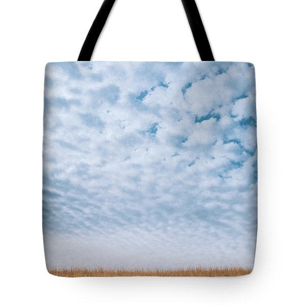 Blue And Amber Tote Bag