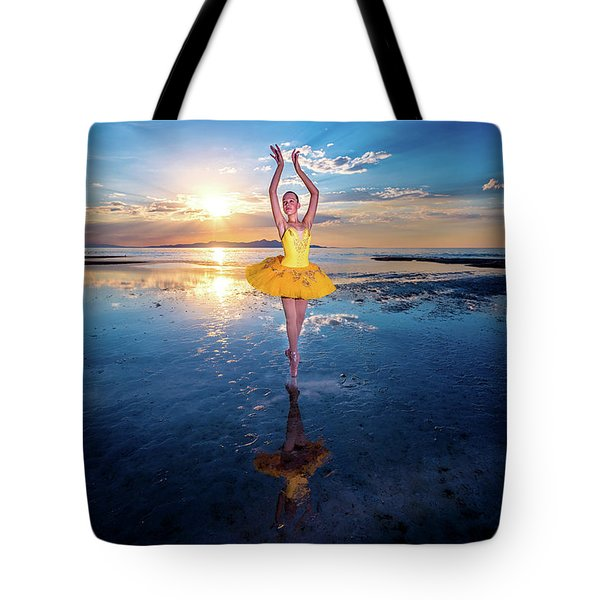 Blue And Yellow 2 Tote Bag