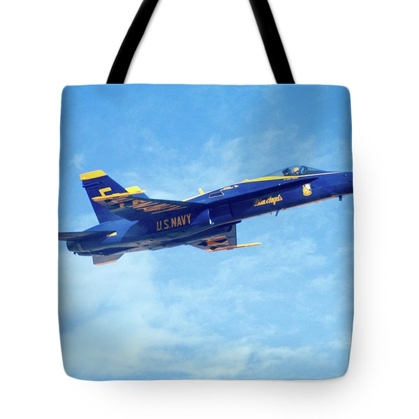 Blue Angel #5 In Arizona Tote Bag