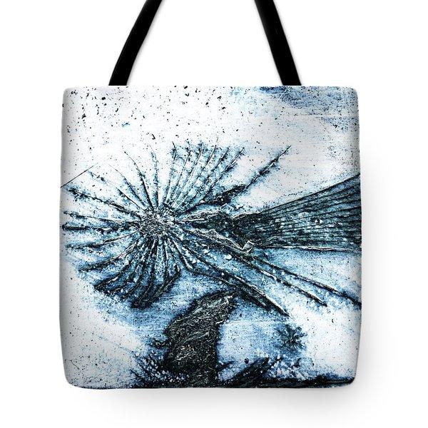 Blue Angel Tote Bag