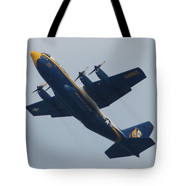 Blue Angel's B-25 Tote Bag by Robert Banach