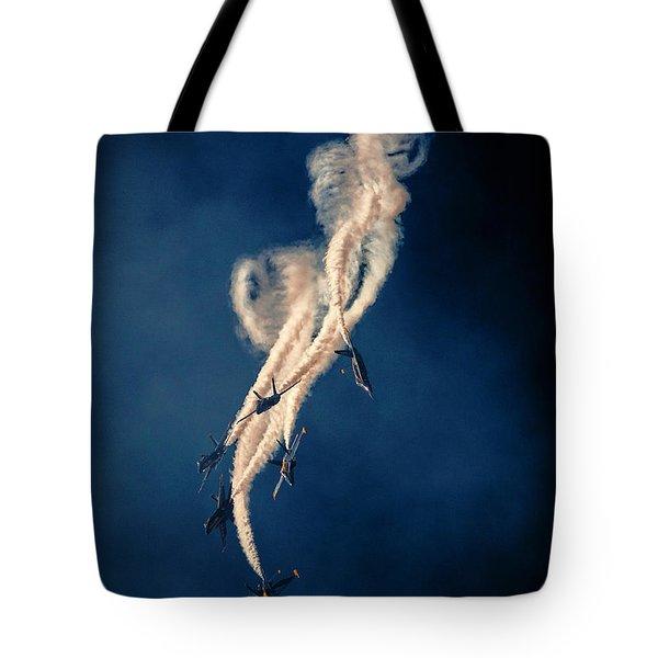 Blue Angels Breakout Tote Bag