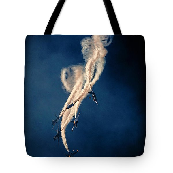 Blue Angels Breakout Tote Bag